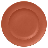 RAK Porcelain NFCLFP33BW Neo Fusion 13 inch Terra Brown Porcelain Flat Plate - 6/Case