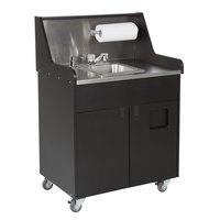 IRP 771301 Precision Series Single Bowl Portable Hand Sink Cart