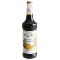 Monin 750 mL Premium Old Fashioned Root Beer Flavoring Syrup