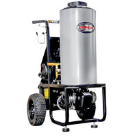 Simpson 60363 Mini Brute Hot Water Pressure Washer with 50' Hose - 1500 PSI; 1.8 GPM
