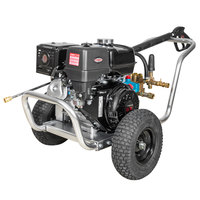 Simpson 60828 Aluminum Water Blaster Pressure Washer with Honda Engine and 50' Hose - 4200 PSI; 4.0 GPM
