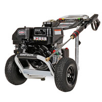 Simpson 60774 Aluminum Series Pressure Washer with Kohler Engine and 35' Hose - 3200 PSI; 2.5 GPM
