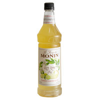 Monin 1 Liter Premium Key Lime Pie Flavoring Syrup