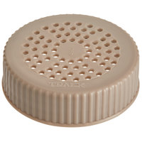 Vollrath 4906-32 Traex® Dripcut® Beige Shaker Lid for Medium Ground Product