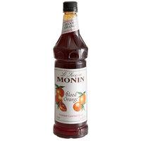 Monin 1 Liter Premium Blood Orange Flavoring Syrup
