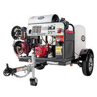 Simpson 95005 Trailer Pressure Washer with Honda Engine, 200 Gallon Water Tank, and 12V Battery Included - 4000 PSI; 4.0 GPM