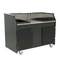 IRP 771312 Precision Series Stainless Steel Beverage Service Cart with 16 Gallon Tank - 61 1/8 inch x 34 7/8 inch x 45 1/8 inch