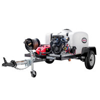 Simpson 95004 Trailer Pressure Washer with Vanguard Engine and 150 Gallon Water Tank - 4200 PSI; 4.0 GPM