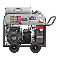 Simpson 65105 Big Brute Hot Water Pressure Washer with Vanguard Engine - 4000 PSI; 4.0 GPM