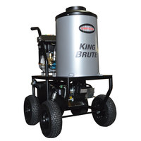 Simpson 65100 King Brute Hot Water Pressure Washer with Briggs and Stratton Engine - 3000 PSI; 2.8 GPM