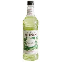 Monin 1 Liter Premium Cucumber Flavoring Syrup