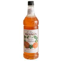 Monin 1 Liter Premium Rock Melon Cantaloupe Flavoring Syrup