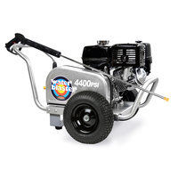 Simpson 60825 Aluminum Water Blaster Pressure Washer with 50' Hose - 4400 PSI; 4.0 GPM