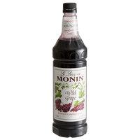 Monin 1 Liter Premium Wild Grape Flavoring Syrup