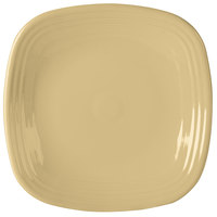 Homer Laughlin 919330 Fiesta Ivory 10 3/4 inch Square Plate - 12/Case