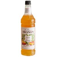 Monin 1 Liter Premium Spicy Mango Flavoring Syrup