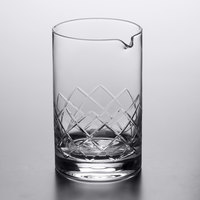Acopa 25 oz. Diamond Cut Cocktail Stirring / Mixing Glass