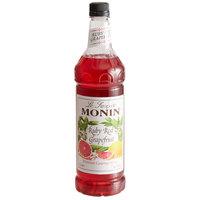 Monin 1 Liter Premium Ruby Red Grapefruit Flavoring Syrup