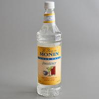 Monin 1 Liter Sugar Free Sweetener Syrup