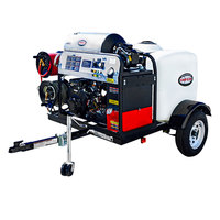 Simpson 95006 Trailer Pressure Washer with Vanguard Engine and 100' Hose - 4000 PSI; 4.0 GPM