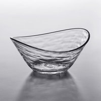 Libbey 92396 Infinium Wake 7 oz. Tritan Plastic Small Snack Bowl   - 12/Case