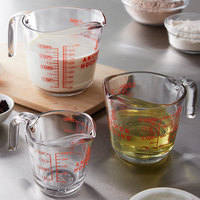 Anchor Hocking 3-Piece Glass Measuring Cup Set