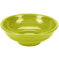 Homer Laughlin 765332 Fiesta Lemongrass 2 Qt. China Pedestal Serving Bowl - 4/Case