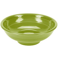 Homer Laughlin 765332 Fiesta Lemongrass 2 Qt. Pedestal Serving Bowl - 4/Case