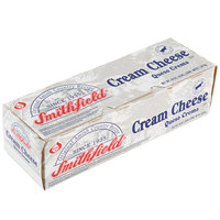 Smithfield 3 lb. Amish Country Cream Cheese Block - 10/Case
