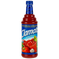 Clamato Tomato / Clam Juice 1 Liter Bottle - 6/Case