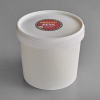 Aegean Feta Cheese 8 lb. Tub   - 2/Case