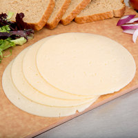 Guernsey's Gift 13 lb. White Longhorn Jack Cheese - 4/Case
