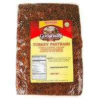 Godshall's 4 lb. Turkey Pastrami Slab - 3/Case
