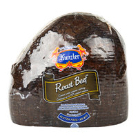 Kunzler 7 lb. Top Round Roast Beef - 2/Case