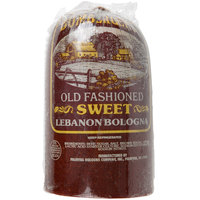 Bomberger's 4.5 lb. Half Piece Old Fashioned Sweet Bologna - 2/Case