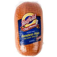 Hatfield 11 lb. Fully Cooked Extra Lean Boneless Ham - 4/Case