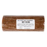 Seltzer's Lebanon Bologna 1.25 lb. Old Fashioned Sweet Bologna   - 12/Case