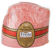 Freda Deli Meats 6.75 Ib. Tender Top Cooked Corned Beef - 2/Case
