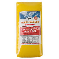Pearl Valley Cheese 7 lb. Lacey Style Swiss Cheese - 2/Case