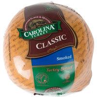 Carolina Turkey Classic 9 lb. Smoked Skinless Turkey Breast - 2/Case