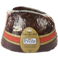 Freda Deli Meats 5 lb. Medium Cooked Roast Beef - 2/Case