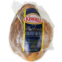 Knauss Foods 6 Ib. Classic Dried Beef Deli Knuckle - 5/Case