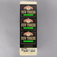 Land O' Lakes 5 lb. New Yorker Hot Pepper American Cheese Solid Block   - 2/Case