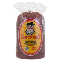 Seltzer's Lebanon Bologna Double Smoked Sweet Bologna 4.5 lb. Half - 2/Case