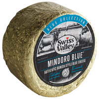 Swiss Valley Farms 6 lb. Mindoro Blue Authentic Danish Style Blue Cheese - 2/Case