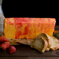 Phillips Lancaster County Cheese Company Port Wine Cheese Loaf 5 lb. Block - 2/Case
