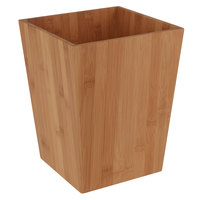 Zen Collection Natural Bamboo 9.5 Qt. Wastebasket