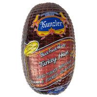Kunzler 7.5 Ib. Black Forest Honey Turkey Ham - 3/Case