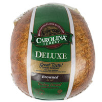 Carolina Turkey Deluxe 9 lb. Oil Brazed Skinless Turkey Breast - 2/Case