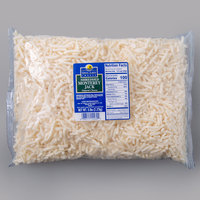 5 lb. Great Lakes Shredded Monterey Jack Cheese - 4/Case